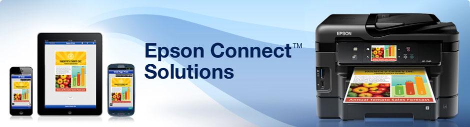 Epson Australia - Epson Connect Solutions