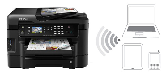Epson WorkForce WF-3530 Printer Drivers for Windows XP