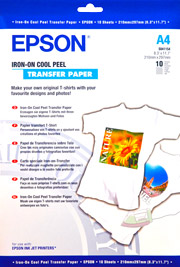 A4 Iron-On Transfer Paper - 10 Sheets (124gsm)