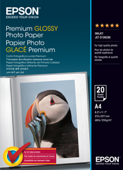 A4 Premium Glossy Photo Paper - 20 Sheets (255gsm)