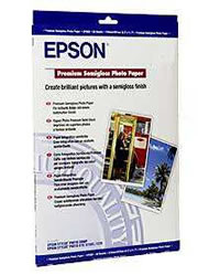 Epson Photo Paper 250gsm Premium Semigloss A3+ Sheets (20pcs)