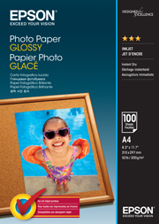A4 Photo Paper Glossy - 100 Sheets (200gsm)