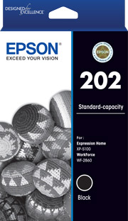 202 - Standard Capacity - Black Ink Cartridge