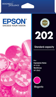202 - Standard Capacity - Magenta Ink Cartridge