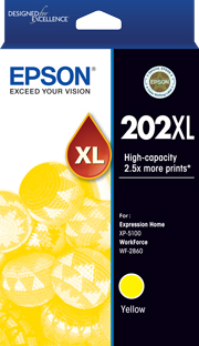 202XL - High Capacity - Yellow Ink Cartridge