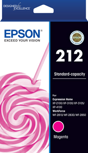 212 - Std Capacity - Magenta Ink Cartridge