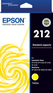 212 - Std Capacity - Yellow Ink Cartridge