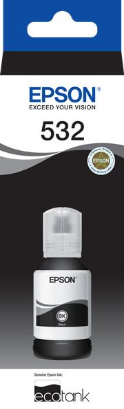 T532 - EcoTank - Black Ink Bottle