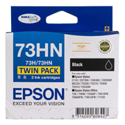 73HN - High Capacity DURABrite Ultra - Twin Pack Black Ink Cartridge