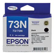 73N - Standard Capacity DURABrite Ultra - Black Ink Cartridge