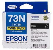 73N - Standard Capacity DURABrite Ultra - Twin Pack Black Ink Cartridge