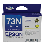 73N - Standard Capacity DURABrite Ultra - Yellow Ink Cartridge
