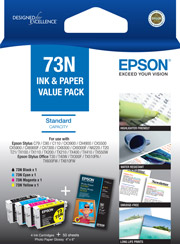 73N - Standard Capacity DURABrite Ultra - Ink Cartridge Value Pack