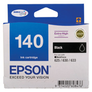 140 - Extra High Capacity DURABrite Ultra - Black Ink Cartridge
