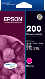 200 - Standard Capacity DURABrite Ultra - Magenta Ink Cartridge