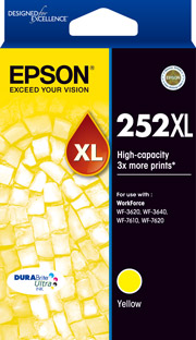 252XL - High Capacity DURABrite Ultra - Yellow Ink Cartridge