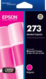 273 - Std Capacity Claria Premium - Magenta Ink Cartridge