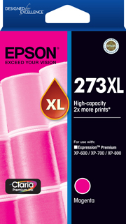 273XL - High Capacity Claria Premium - Magenta Ink Cartridge