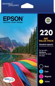 220 - Std Capacity DURABrite Ultra - Ink Cartridge Value Pack