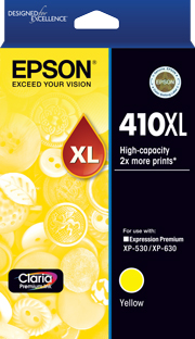 410XL - High Capacity Claria Premium - Yellow Ink Cartridge