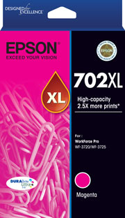 702XL - High Capacity DURABrite Ultra - Magenta Ink Cartridge