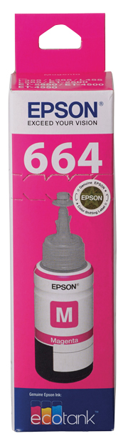 T664 - EcoTank - Magenta Ink Bottle