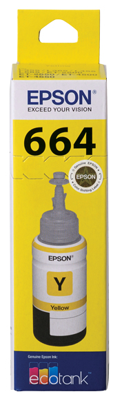 T664 - EcoTank - Yellow Ink Bottle