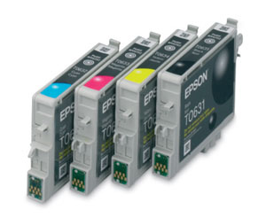 4 individual Ink cartridges