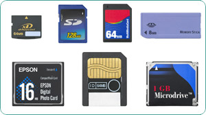 Powerful Memory Card Support