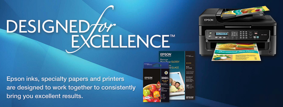 Epson Inks and papers designed for excellence