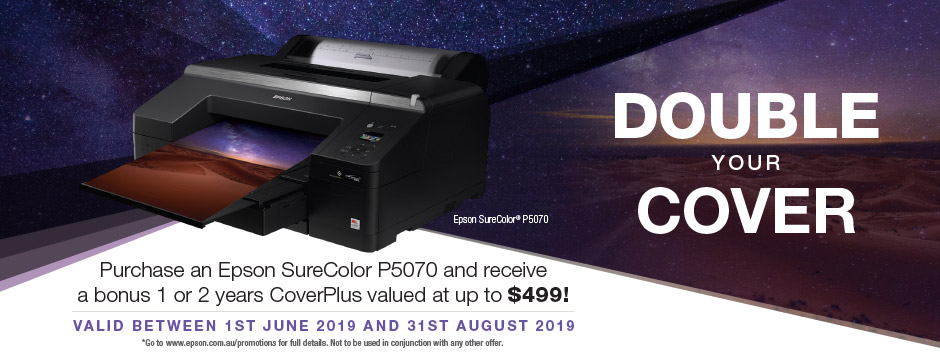 SureColor Double your Cover Promotion