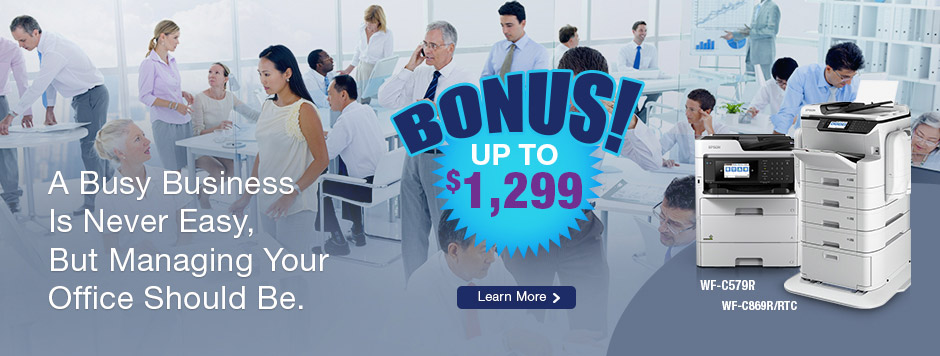 WorkForce Bonus Promotion