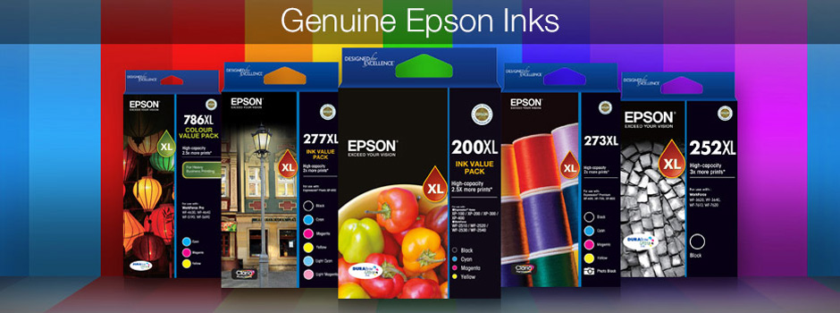 Genuine Epson Inks