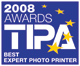 Epson Stylus R1900 wins �Best Expert Photo Printer in Europe 2008�