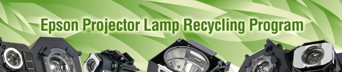 Epson Projector Lamp Recycling Program
